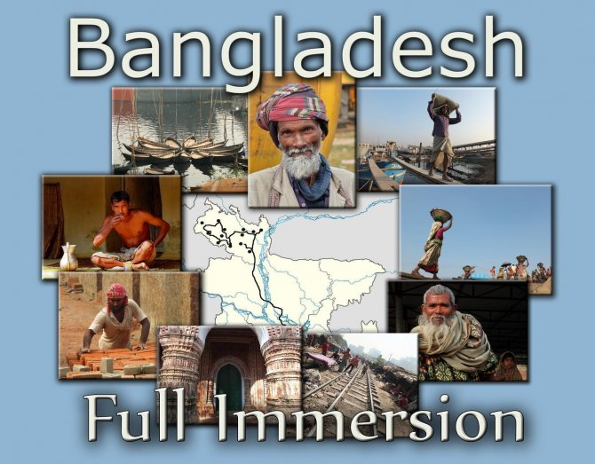 BANGLADESH -  FULL  IMMERSION - novembre / dicembre 2013 -  ARGONAUTI  EXPLORERS